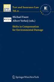 Shifts in Compensation for Environmental Damage (Tort and Insurance Law) (Tort and Insurance Law) by