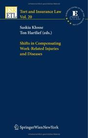 Cover of: Shifts in compensating work-related injuries and diseases