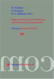 Cover of: Immersive Projection Technology and Virtual Environments 2001 |