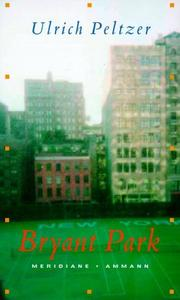 Cover of: Bryant Park