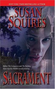Cover of: Sacrament | Susan Squires