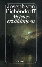 Cover of: Meistererzaehlungen