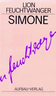Cover of: Simone: a novel