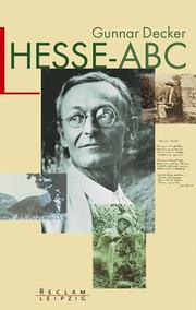 Cover of: Hesse- ABC