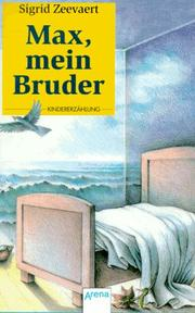 Cover of: Max, mein Bruder.