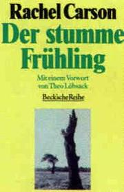 Cover of: Der stumme Frühling (Fruhling)