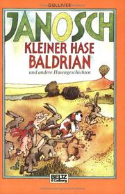 Cover of: Kleiner Hase Baldrian