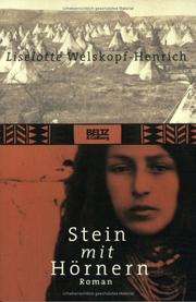 Cover of: Stein mit Hörnern