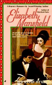 Cover of: Her man of affairs | Elizabeth Mansfield