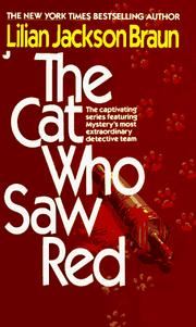 Cover of: The Cat Who Saw Red (Cat Who...)