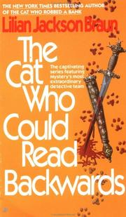 Cover of: The Cat Who Could Read Backwards (Cat Who...)