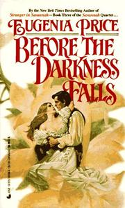 Before the darkness falls by Eugenia Price