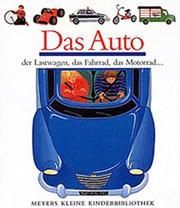 Cover of: Das Auto (Meyers Kleine Kinderbibliothek)