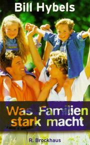 Cover of: Was Familien stark macht