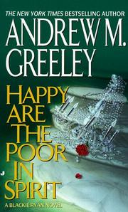 Cover of: Happy are the poor in spirit: A Blackie Ryan Novel