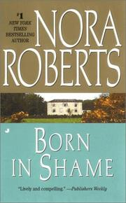 Cover of: Born in shame: The Born In Trilogy #3 (Born in Trilogy)