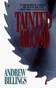 Cover of: Tainted Blood | Andrew Billings