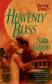 Cover of: Heavenly Bliss (Haunting Hearts) by Sara Jarrod