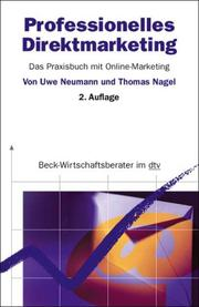 Cover of: Professionelles Direktmarketing