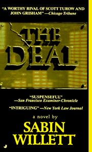 Cover of: The Deal | Sabin  Willett