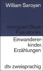 Cover of: Einwandererkinder / Immigrant Boys