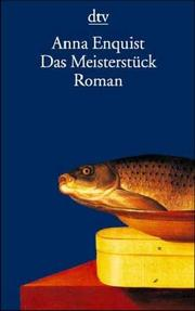 Cover of: Das Meisterstuck. Roman