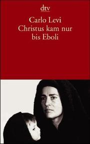 Cover of: Christus kam nur bis Eboli