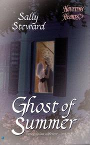 Cover of: Ghost of Summer (Haunting Hearts Romance Series) | Sally Steward