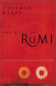 Cover of: The Soul of Rumi