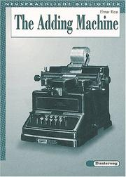 Cover of: The Adding Machine.