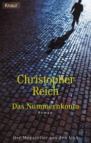 Cover of: Das Nummernkonto