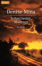Cover of: Schrei lauter, Maureen