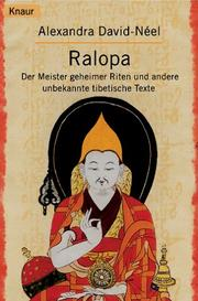 Cover of: Ralopa