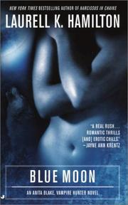 Cover of: Blue Moon (Anita Blake, Vampire Hunter: Book 8)