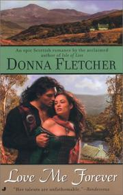 Cover of: Love me forever | Donna Fletcher