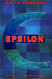 Cover of: Epsilon