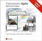 Cover of: Bautechnik Digital Update 2002 CD-Rom