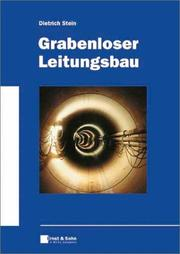 Cover of: Grabenloser Leitungsbau