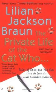 Cover of: The private life of the cat who--