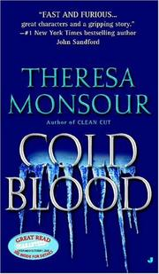 Cover of: Cold Blood (Paris Murphy Mysteries) | Theresa Monsour