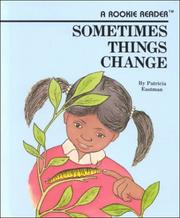 Cover of: Sometimes things change