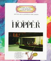 Cover of: Edward Hopper by Mike Venezia