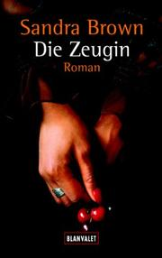 Cover of: Die Zeugin