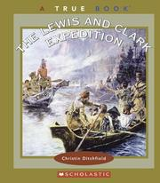 Cover of: The Lewis and Clark Expedition