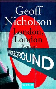 Cover of: London, London