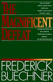 Cover of: The magnificent defeat