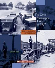 Cover of: The great Mississippi flood of 1927
