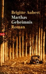 Cover of: Marthas Geheimnis
