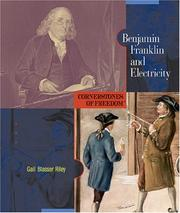 Cover of: Benjamin Franklin and electricity