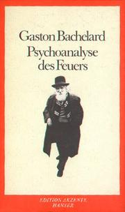 Cover of: Psychoanalyse des Feuers